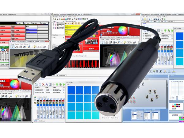 Sunlite2004 daslight adaptateur USB Sushi DS 128 canaux