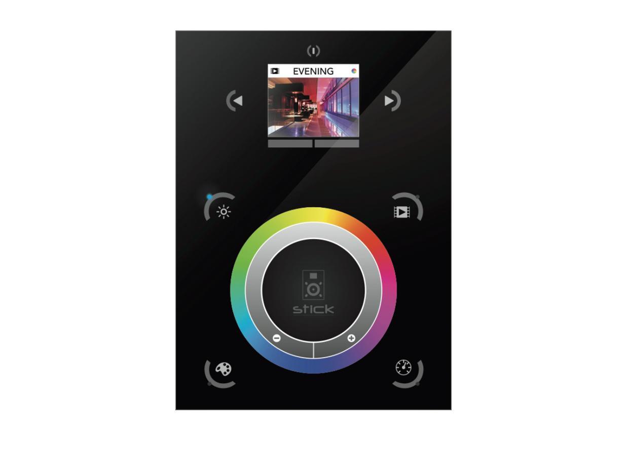 Panneau de contrôle programmable Sunlite Stick DE3 tactile et graphique