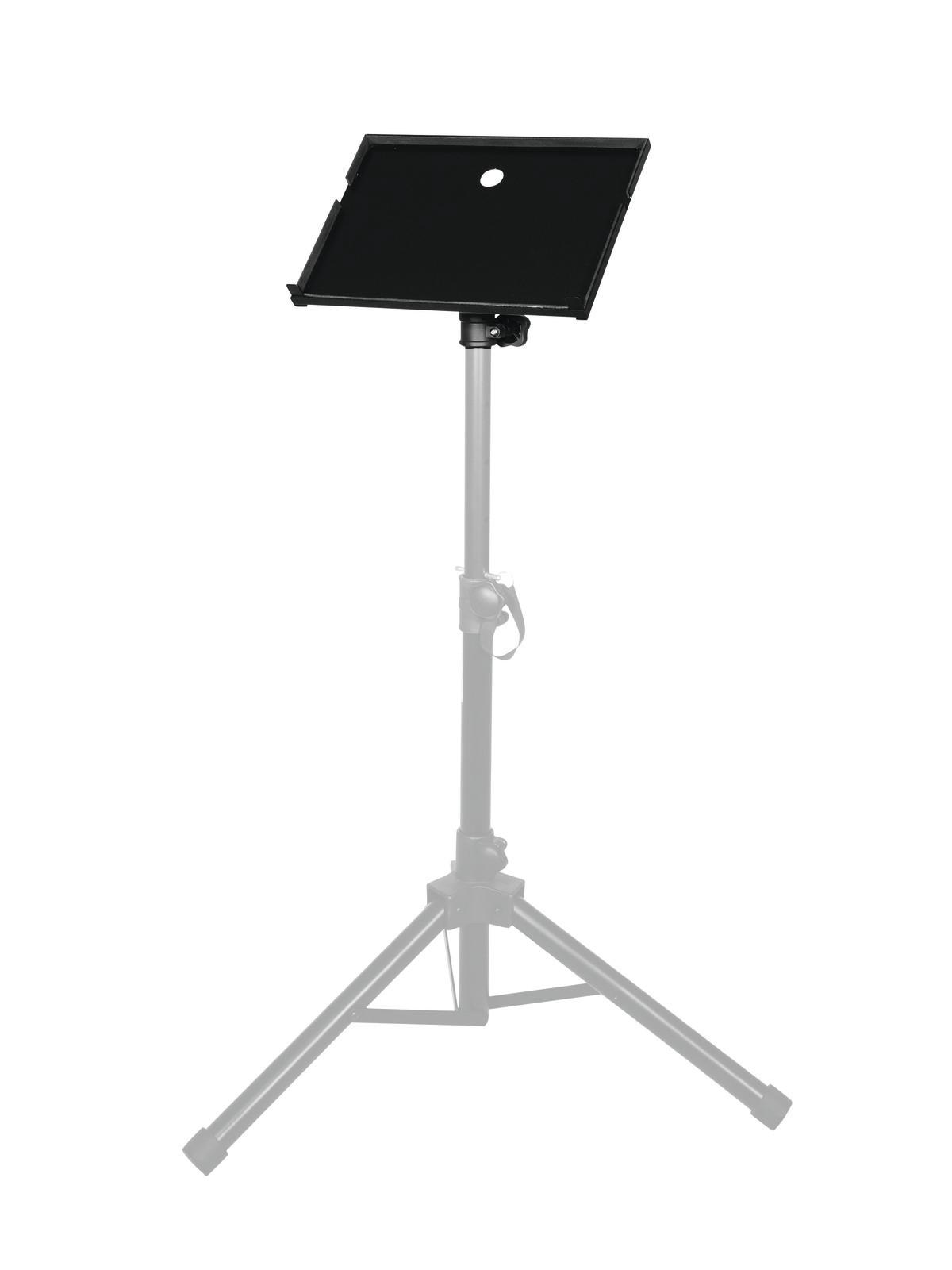 livraison gratuite plateau 385 x 272 pour projecteur vid o adaptable sur pied enceinte 35mm. Black Bedroom Furniture Sets. Home Design Ideas