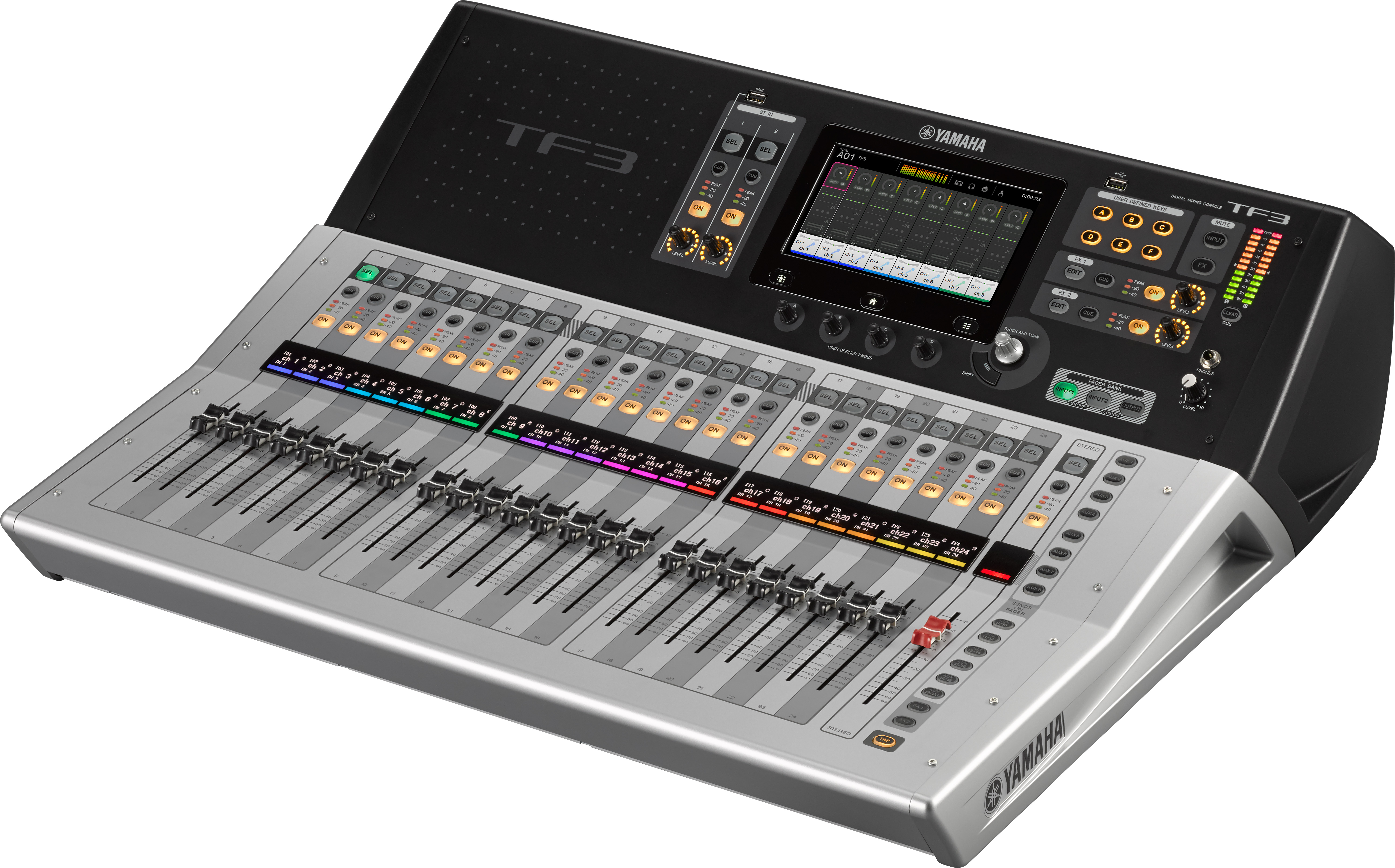 Console numérique Yamaha TF3 48 canaux 24 faders