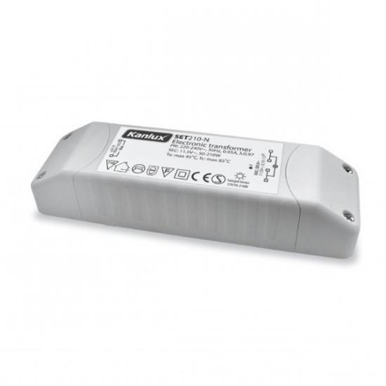 Transfo électronique 12V de 210W pour halogènes
