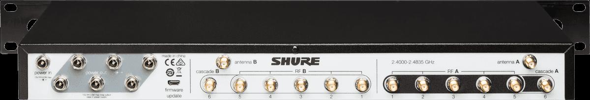 Manager de fréquences Shure UA846Z2-E