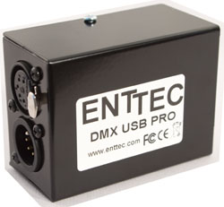 ENTTEC DMX USB PRO Interface USB vers DMX512