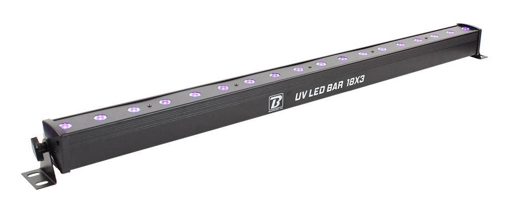 Barre LED UV - BoomtoneDJ - 18x3W