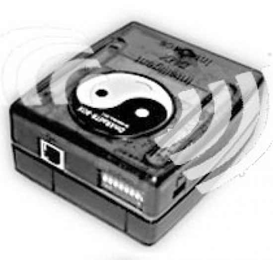 DMX RADIO boitier wireless WIFI 2,4G 300m émetteur ou récepteur HF box eco