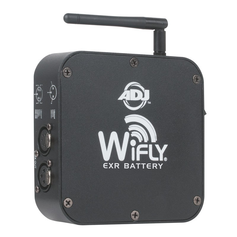 Trasmetteur DMX WIFLY EXR American DJ émetteur récepteur sur batterie