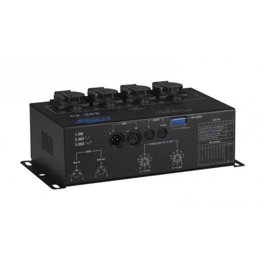 Bloc de puissance 4 canaux DMX NICOLS DP405