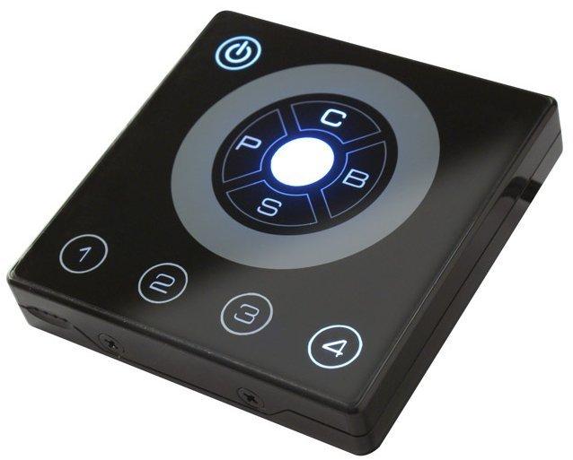 Interface tactile de controle d'installation à led DMX Starway E-store 4