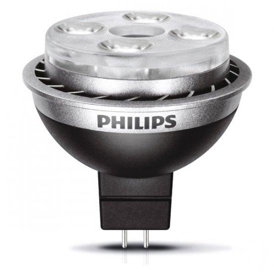 Lampe Philips MasterLed spot LV 10W 24° Gu5.3 12v 2700K graduable
