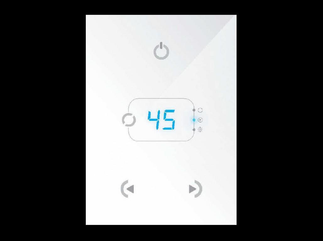 Panneau de contrôle programmable Sunlite Stick-GA2 tactile et graphique BLANC