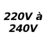 B22d 220-240V