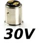 Culot Ba15d 30V