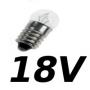Lampes E10 18V
