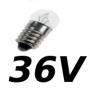 Lampes E10 36V