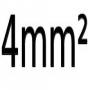 4 mm²