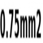 0.75mm2