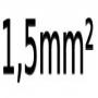 1.5 mm²