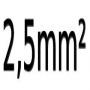 2.5 mm²
