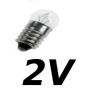 Lampes E10 2V