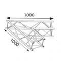 Angle 2D à 60 degres en structure aluminium ASD SZ 290 FC carrée