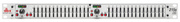 Egaliseur stéréo DBX 215S 2x15 bandes série 2