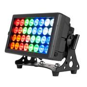 32 HEX Panel IP ADJ projecteur extérieur 32 leds 12W RGBWA+UV