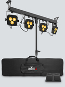 Set de 4 projecteur led sur pied Chauvet 4BAR LT BT bluetooth