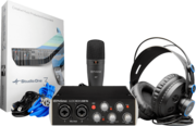 Pack studio Presonus audiobox96 black + micro + casque + Studio one 3