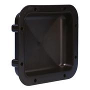 Adam Hall Hardware 34030 - Cuvette Encastrable plastique noir