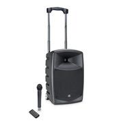 LD Systems ROADBUDDY 10 B5 - Enceinte active Bluetooth sur accus avec mixeur et micro HF