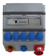 Alimentation G-BOX 32A - PC16 différentiel, Arrêt d'urgence norme française