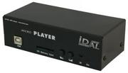 MicroPlayer - AP103 - Lecteur MP3 amplifié sur carte SD avec 4 IN   Alim 6W