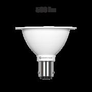 Ampoule LED R70 Ba15d 12v 7W 2700K 24° remplace Halospot 70