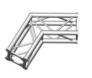 Structure alu ASD SC250 carrée angle 120° 2 départs ASC2524