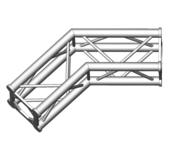 Structure alu ASD SC250 carrée angle 135° 2 départs ASC2525