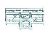 Structure alu ASD SC250 carrée angle 90° 3 départs ASC2533