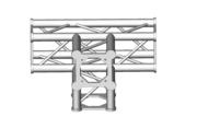 Structure alu ASD SC250 carrée angle 90° 4 départs ASC2542