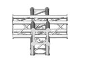 Structure alu ASD SC250 carrée angle 90° 2 départs ASC2551