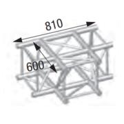 Structure T ASD 90 degrès 3 départs