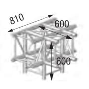 Structure 4 départs ASD ASC 4042 90 degrès