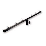Barre carrée ASD BA150 pour fixation de 6 à 12 projecteurs sur pied 35mm 30X30 longueur 1m 50