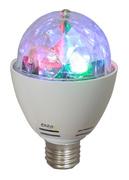 Effet lumineux sur douille E27 IBIZA astro-Mini 4 leds RVBA