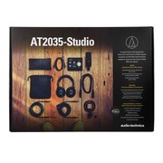 Pack studio Audio Technica AT2025-Studio avec casque M40x, carte son Audient Id14 et micro AT2035
