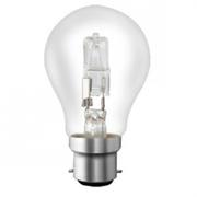 Lampes B22 230V 53W Standard halogène équivalent 75W SYLVANIA code 0023133