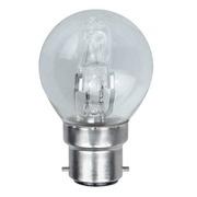 Lampes B22 230V 18W Sphérique halogène équivalent 25W