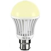 Ampoule à led Blanche B22 9W 230V Blanc Chaud 3100K