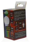 Ampoule Led B22D RGB 2W à changement de couleur
