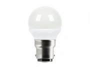 Ampoule sphérique B22 Megaman 230V LED 3W5 4000k Blanc neutre