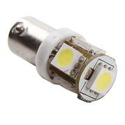 LAMPE BA9s à led blanc 12V 5 led 5050