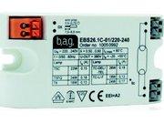 Ballast electronique rectangle pour 1 lampe ou tube fluo de 18w a 26w voir description